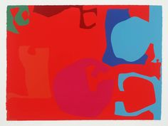 Patrick Heron 'Untitled', 1971 © Estate of Patrick Heron. All Rights Reserved, DACS 2015 Abstract Art Images, Abstract Shapes, Patrick Heron, Kids Art Class, Artists For Kids, A Level Art, Abstract Painters, Human Art, Elements Of Art