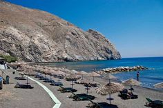 Santorini-plaj www.bayanbigudi.com