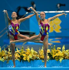 Canada's Synchronized Swimming Jester Costumes <3