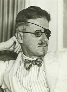 James Joyce (Part 2) - Irish Author.  What *isn't* hot about a man rocking a white smoking jacket, a bow tie, salt and pepper hair and a mother fucking eye patch over a pair of glasses? That's right, nothing.