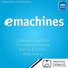 Recuerden #Lunes #eMachines todas las #laptops o PC escritorio en promo; LIMP.INTERNAACTUALIZAREPARAVIRUS?OPTIMIZA.