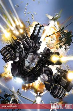 comics/superheroes #warmachine #Marvel #Comics