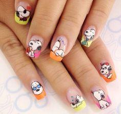 Uv Gel Nails, Toe Nails, Acrylic Nails, Toe Nail Designs, Acrylic Nail Designs, Snoopy Nails, Cross Stitch Baby, Diy Beauty, Hair And Nails