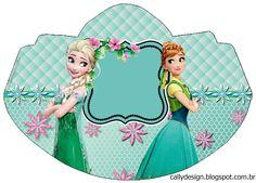 """CALLY'S DESIGN-Kits Personalizados Gratuitos: Kit Aniversário """"Frozen Fever"""" para Imprimir"""