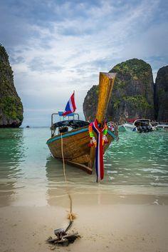 Maya Bay, Thailand by Paulius Bruzdeilynas on 500px