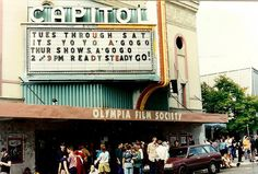 Capitol Theatre during Yoyo-A-Go-Go ~ Olympia, WA ~ July 1994 by