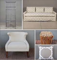 design cheat sheet #2: living room ideas from red's sale page. great sofas, lighting, pillows and storage on sale now!