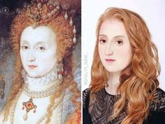 Famous Historical Faces and What They Would Look Like Today Using CGI - Your Money Magic Anne Boleyn, Anne Of Cleves, Madame Du Barry, Isabel Woodville, Elizabeth Woodville, Wives Of Henry Viii, King Henry Viii, Hans Holbein, Queen Isabella