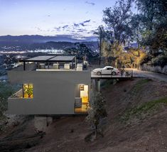 Car Park House by Anonymous Architects