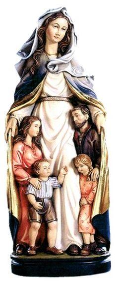 Happy Mother's Day- Mary our Mother-  Bajo el manto de Maria