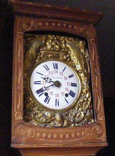 Pendule comtoise ancienne Delaunay à Ruffec