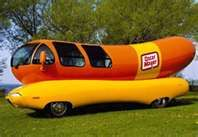 I always thought it would be such a fun job to drive the Oscar Mayer Wiener Mobile for a living!
