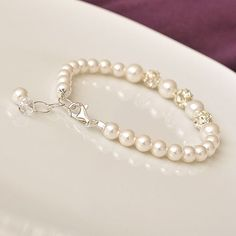 Items similar to Bridal Bracelet, Pearl Bridal Bracelet, Swarovski Rhinestone Bridal Bracelet, Bridal Jewelry Bracelet on Etsy Pearl Jewelry, Beaded Jewelry, Jewelery, Jewelry Bracelets, Pearl Bracelets, Pearl Rings, Pearl Necklaces, Geek Jewelry, Jewelry Sets
