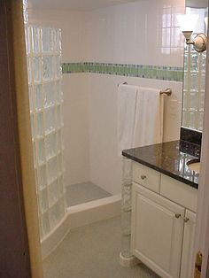 Raleigh Bathroom Curbless Shower Design, Pictures, Remodel, Decor ...