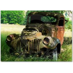 Everytime I see an abandoned classic car or truck, I want to rescue it, bring it home and fix it up.