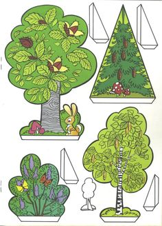 BB 01 b.jpg - cut-out sheet - # cut-out sheet - origami -. Paper Doll House, Paper Houses, Bunny Origami, Diy For Kids, Crafts For Kids, Diy And Crafts, Paper Crafts, Christmas Origami, Pop Up Cards