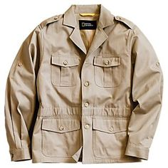 Men's Modern Safari Jacket natgeo 50