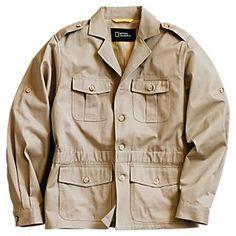 Men's Modern Safari Jacket natgeo 50