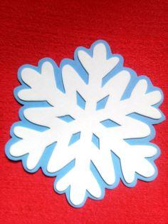 Floco de neve Frozen eva 15 cm