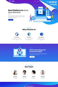 Business Corporate Landing Page Template - Landing Pages - Create a landing pages with drag and drop. Easily make your landing page in 3 minutes. - Business Corporate Landing Page Template Web Design Websites, Web Design Quotes, Web Design Software, Web Ui Design, Web Design Trends, Design Ideas, Flat Design, Website Design Layout, Web Layout