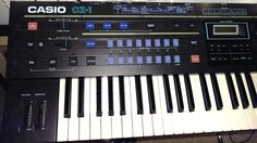 MATRIXSYNTH: Casio CZ-1 Cosmo Synthesizer with Extras