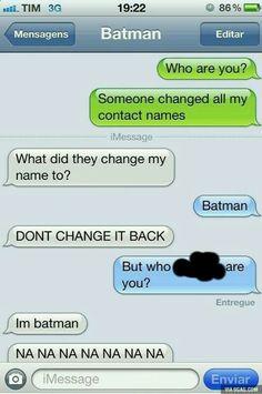 Lol so funny