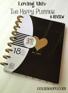 A review of The Create365 Happy Planner from Me & My Big Ideas. Love!