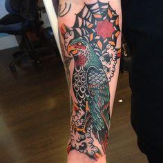 Adde as featured on www.swallowsndaggers.com #tattoo #tattoos #bird