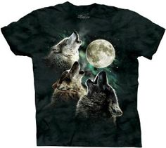 the classic three wolves T-shirt - a necessary piece of cloth for any man-babe