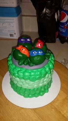 TMNT baby cake! 6-27-15