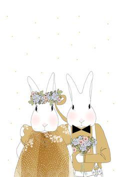 Carte les mariés | Les Biscottes