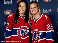 baaf4962286d0 The Montreal Stars are now known as Les Canadiennes de Montreal. Caroline  Ouellette and Marie
