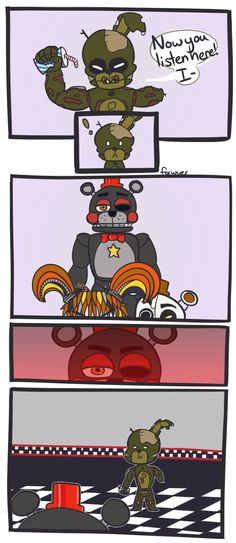 49 most popular fnaf funny comics Fnaf 4, Anime Fnaf, Marionette Fnaf, Scary Games, Freddy 's, Fnaf Characters, Funny Pictures Can't Stop Laughing, Fnaf Sister Location, Fnaf Drawings