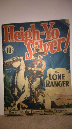 Rare 1938 Large Comic #3 Heigh-Yo Silver 1st of The Lone Ranger