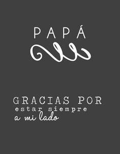 Gracias a todos esos papás que hacen que podamos vivir este viaje tan maravilloso que es la vida. Feliz dia del padre!