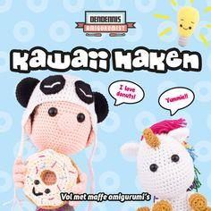 Kawaii Haken  Dutch Amigurumi Book by Dendennis