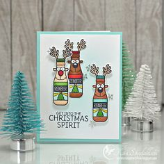 Joyful Creations with Kim: It's Reinbeer Time Christmas Music, Christmas 2019, Winter Christmas, Merry Christmas, Christmas Ideas, Winter Cards, Christmas Morning, Twinkle Twinkle, Happy Holidays