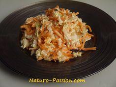 Coleslaw au choux chinois