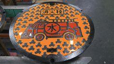 Take a Tour of a Japanese Manhole Factory Where Neighborhoods Create Their Own Designs