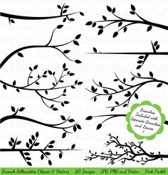 Branch Silhouettes Clipart Clip Art Tree Branch Clip by PinkPueblo - Image Editing - Edit image online tool. - Branch Silhouettes Clipart Clip Art Tree Branch Clip by PinkPueblo Art Clipart, Image Clipart, Black Silhouette, Tree Silhouette, Branch Vector, Art And Illustration, Illustrations, Art Original, Image Editing