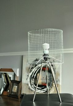 Tutorial on chicken wire lampshade frame lampshade frame and diy lamp shade industrial modern wire lampshade tutorial you could also use this frame idea cover it w brown paper or any papermaterial really greentooth Gallery