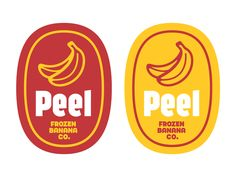 Peel Sticker designed by Kyle Wayne Benson. Connect with them on Dribbble; Ästhetisches Design, Badge Design, Label Design, Packaging Design, Branding Design, Logo Design Trends, Design Layouts, Signage Design, Photo Layouts