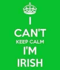 In honor of St. Patrick's Day. @Mellisa Holder, we should really get shirts that say this...