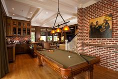 Eagle Point Road Residence 2 - traditional - game room - brick - Charleston - Solaris Inc.