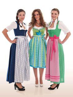 Tradition & Moderne -  Farbenfrohe Dirndl die sich sehen lassen können!