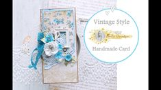 How to make a Vintage Style Card with Lemoncraft papers Vintage Style, Vintage Fashion, Old Frames, Card Making, Tutorials, Lady, Paper, How To Make, Handmade