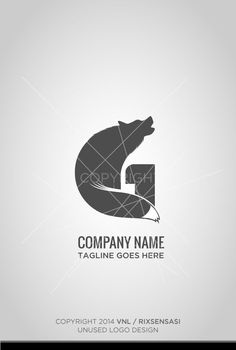 The G word with Wolf elements - Unused Logo Design