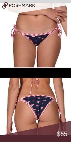 03ff9cf4f0a01 SEAFOLLY Riviera Coast Brazilian Bikini Bottom SEAFOLLY Riviera Coast Brazilian  Bikini Bottom. Adorable stripes with