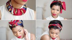 I thought I'd share with you a few ways I like to wear my scarf! ^.^ Scarf to Necklace @ 2:09 Scarf to Head Tie @ 7:31 Scarf to Hair Bow @ 9:42 Scarf to Turb...