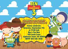 Toy Story Birthday Invitation MellysHandmades on Etsy